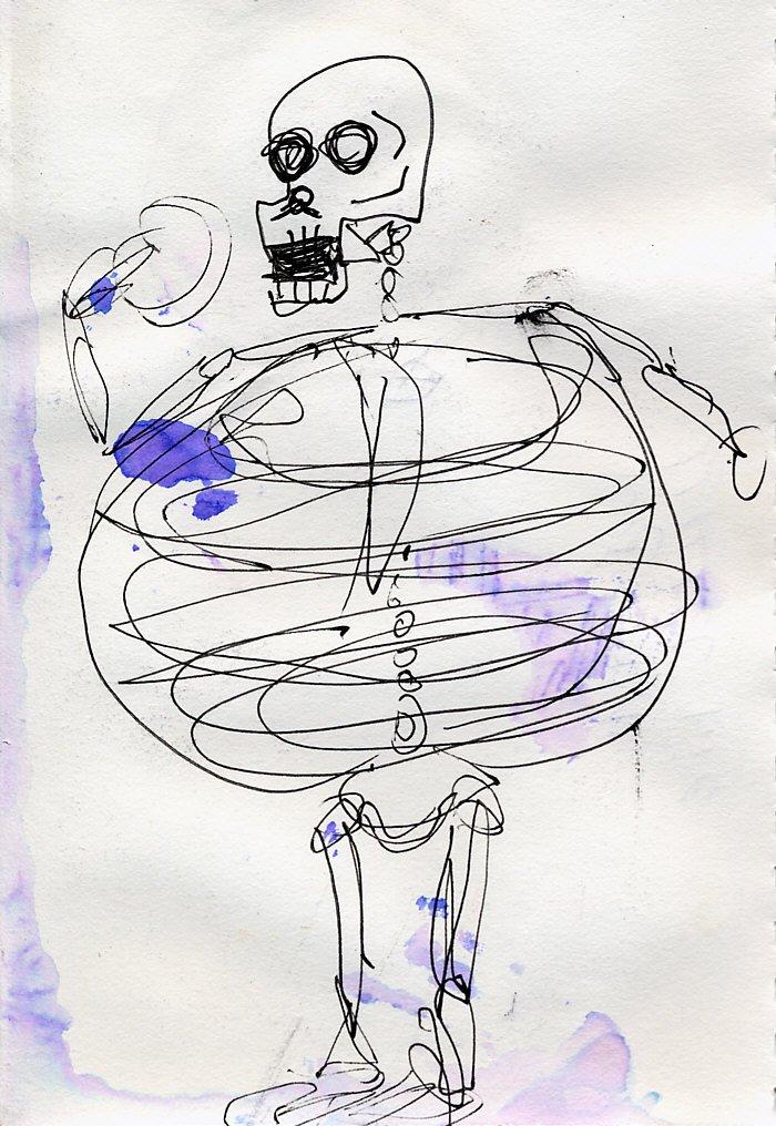 WIEGEIST   Original Outsider Art by Doug Wiegand